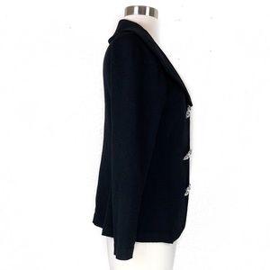 d111b319701fb St. John Sweaters - St John Evening Knit Sparkle Brooch Button Sweater